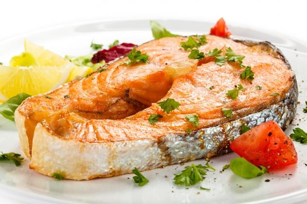 厚切鮭魚 2