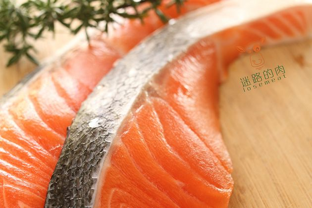 智利薄鹽鮭魚片(調味) 2