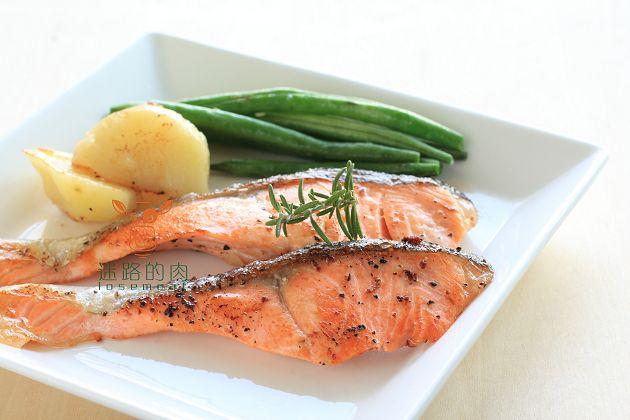 智利薄鹽鮭魚片(調味) 1