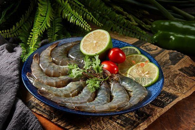 南美頂級生白蝦 1